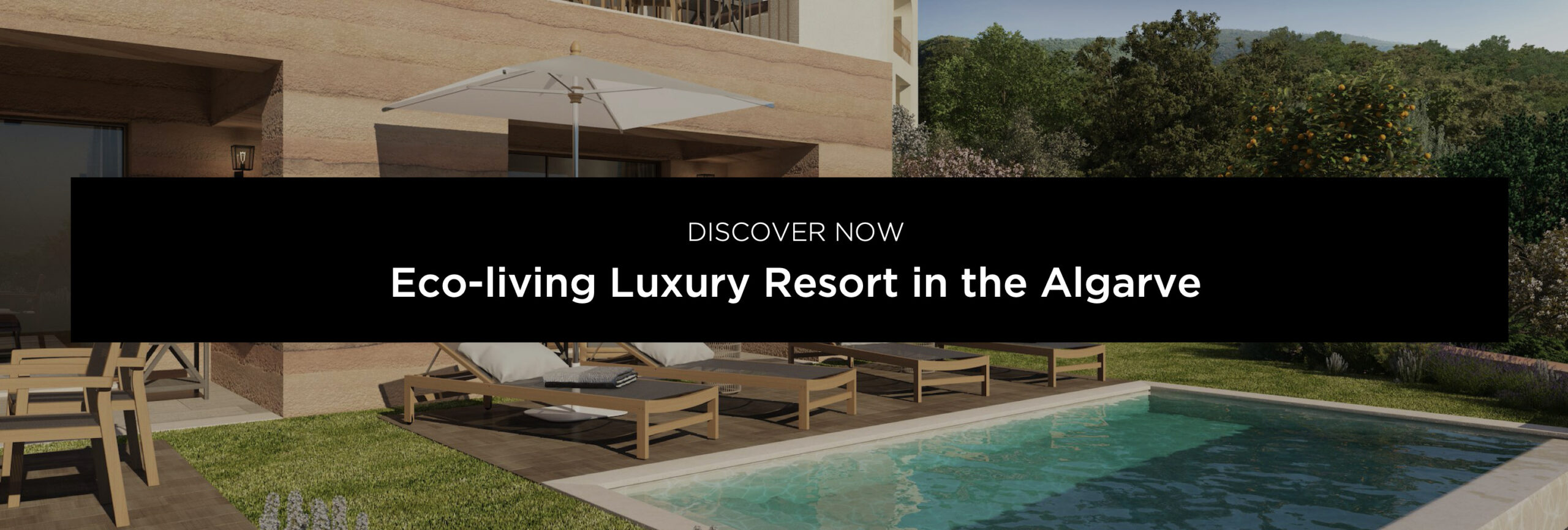 Luxury resort in the Algarve